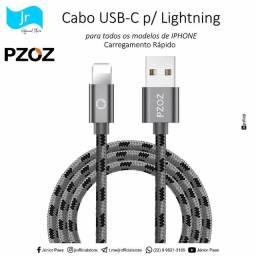 Cabo USB-C para LIGHTNING   @jrofficialstore