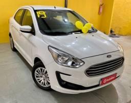 Título do anúncio: Ford KA sedã SE 2019 ent. + 876,00 fixas