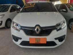 Título do anúncio: Renault Logan Life 1.0 MT 2020