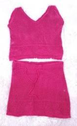 Título do anúncio: Conjunto tricô