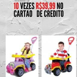 Título do anúncio: Jip Jip Menina e nenino 10 vezes R$39,99 cartão e vindo busca no dinheiro tem desconto