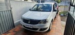 Renault logan 2011 1.0 completo T.R.O.C.O