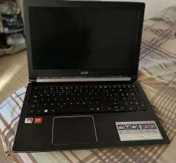 Notebook gamer Acer Aspire 5. Retirar em Guarulhos /SP