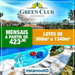 14- Loteamento Green Club. Parcelas a partir de R$ 423 ENTRADA FACILITADA!