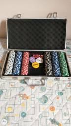 Vendo maleta de poker completa
