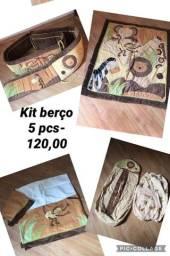 Título do anúncio: Kit berço Safari 5 peças