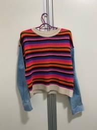 Blusa farm tricot