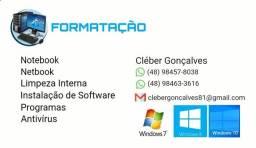 Formatação de notebooks e netbooks