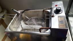 Fritadeira elétrica, estufar.