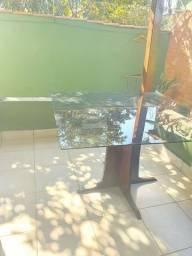 Lindissima Mesa se madeira e vidro