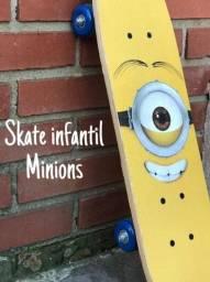 01 skate infantil Minions