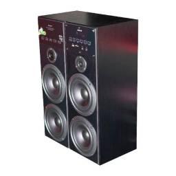 Título do anúncio:  Caixa Amplificada Amvox Aca 480 Torre 480W Rms Torre Bivolt - 12X Sem Juros