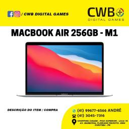 MacBook Air 2020, chip M1, 256GB. Novo. Garantia Apple. Loja Fisica