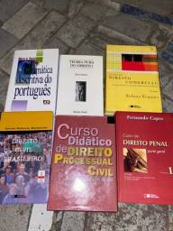 Livros de direitos. R$500 (sujeito a negociações)