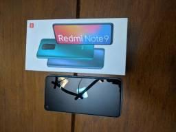 Redmi note 9 novíssimo, na caixa e com nota fiscal