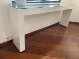 Título do anúncio: Buffet de madeira pintada de branco
