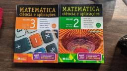 Livros ciências e aplicaçoes, volume 2 e 3