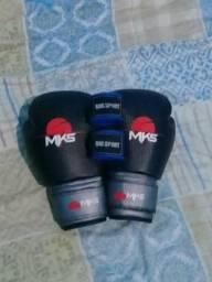 Vendo uma luva MKS 14 oz e bandagem One Sport