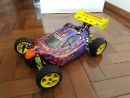 Automodelo Buggy Himoto Syclone combustão