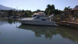 Embarcação 50 pés Ferretti Embarcação com revisão de motores, gerador novo, cabine de mari - 1996