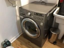 Lavadora/Secadora LG 12kg Aço Inoxidável