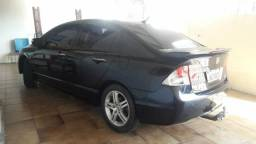 Carro semi usado - Honda Civic Exs flex - 2009