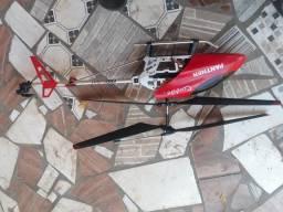 Helicoptero panther candide ta com defeito no controle remoto