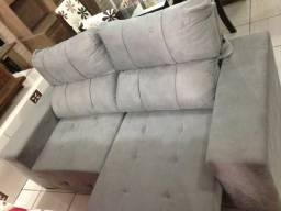 Sofá retrátil e reclinável 5 posições
