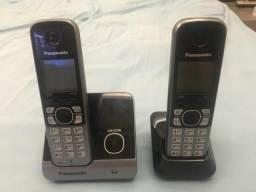 2 Telefones Panasonic