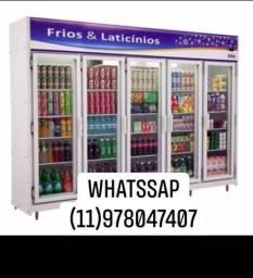 Geladeira expositora 5 portas frilux*geladeira alto serviço 2.80mt