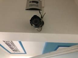Câmera de segurança com infra vermelho
