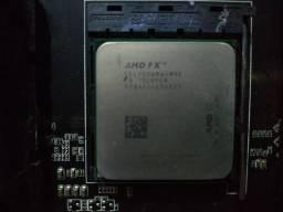Kit amd processador, placa mãe e memorias