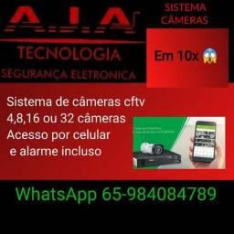 Câmeras de segurança cctv