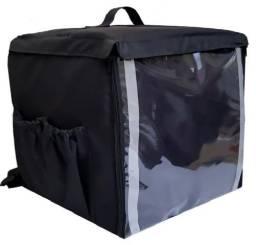 PB Mochila Bolsa Bag Térmica Entrega Para Motoboy Pizza Lanches Refeições