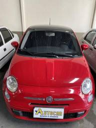 Fiat 500 mais top da Categoria, som Bose teto solar - 2012