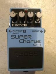 Pedal Boss Super Chorus Ch1 - Na caixa-Impecável!