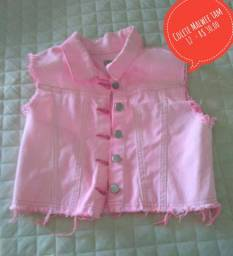 Colete Jeans Rosa Malwee tam 12