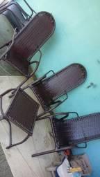 Cadeira luxo reforçada em junco sintético 110.00 cada