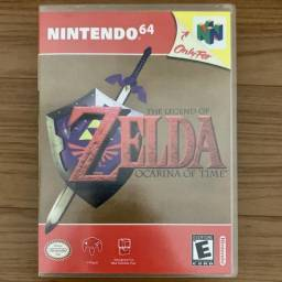 The Legend of Zelda Ocarina of Time Original Nintendo 64 N64 comprar usado  Rio de Janeiro