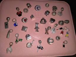 Vendo berloques em prata 925