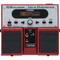 Pedal Processador de voz Boss VE 20