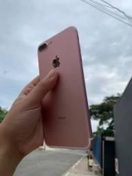 IPhone 7 plus Rose 256 GB novo