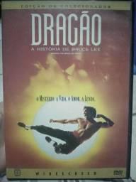 DVD Dragão A história de Bruce Lee EDIÇÃO DE COLECIONADOR