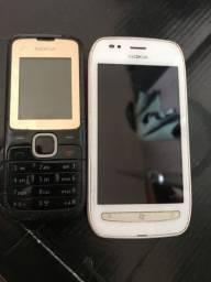 Vendo celulares antigos funcionando