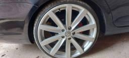 Rodas Jetta pneus 90% perfil 215/30/20