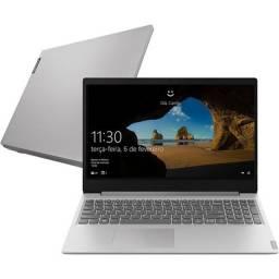 Notebook Lenovo Ultrafino Ideapad S145 i5-1035G1 8Gb 256Gb Ssd Sata Win 10 15.6 Prata