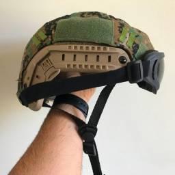 Vendo Capacete de Fibra Militarizado
