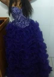 Vestido de debutande
