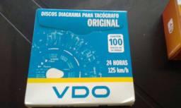 Disco de tacografo diário 125km