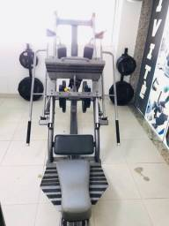 Leg press/Hack squat Welness Impulse seminovo